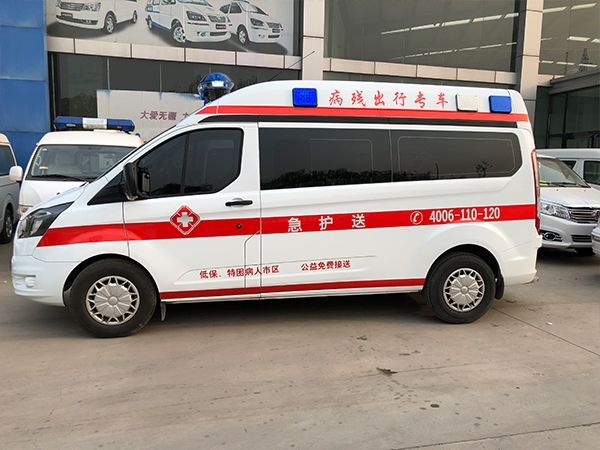 石家庄救护车展示
