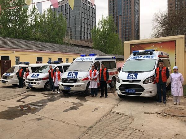 救护车车队